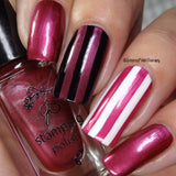 #055  Pomegranate Pop - Nail Stamping Color (5 Free Formula)