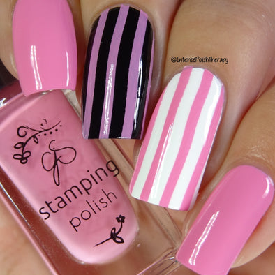 #71 Flirty Flamingo - Nail Stamping Color (5 Free Formula)