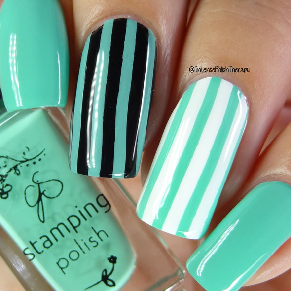 #72 Palm Frond - Nail Stamping Color (5 Free Formula)