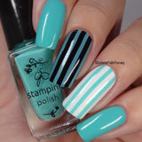#097 Oceanside - Nail Stamping Color (5 Free Formula)