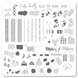 Crafty Life (CjS-114) Steel Stamping Plate