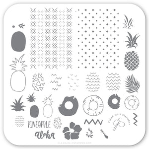 Pineapple Pizzazz (CjS-130) Steel Stamping Plate