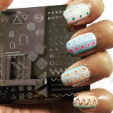 Tribal By BlackQueenNailDesign (CjSLC-02) - Steel Stamping Plate