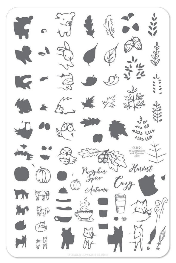 Pumpkin Spice CjS LC-25 - Steel Stamping Plate