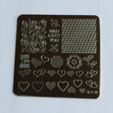 Layers of LoVe (CjSV-04) - Steel Stamping Plate