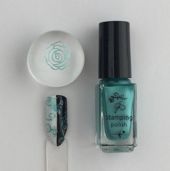 #37  Caribbean Dream - Nail Stamping Color (5 Free Formula)