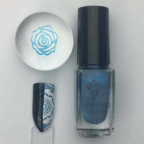 #52  Jazz Not Blues - Nail Stamping Color (5 Free Formula)