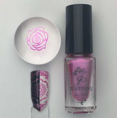 #54  I'm a Barbie Girl - Nail Stamping Color (5 Free Formula)