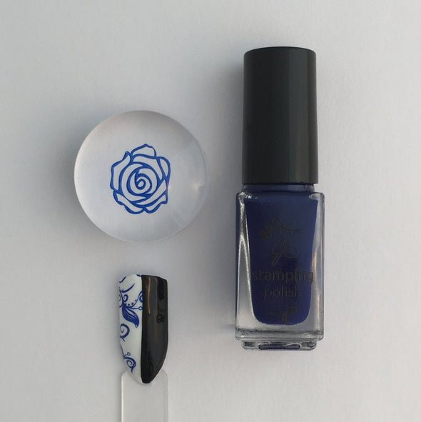 #13 Storm Pirate - Nail Stamping Color (5 Free Formula)