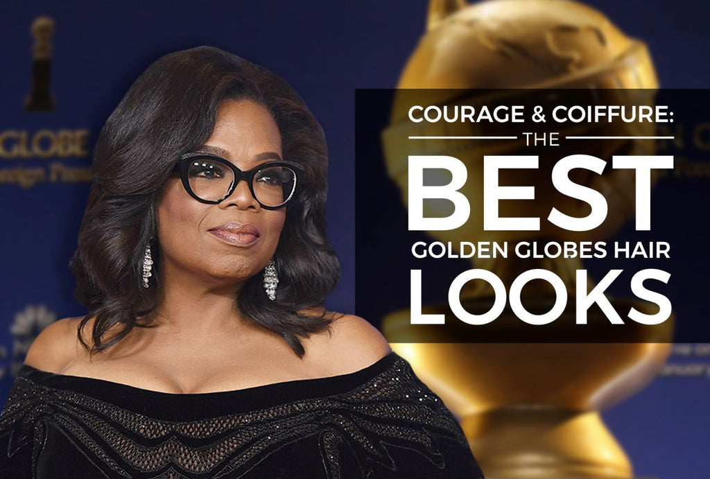 Believe in your Courage & Coils : Celebrating the Golden Globes Draped in Black Addresses #MeToo