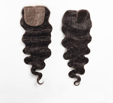 Mayvenn Hair Extensions Brazilian Loose Wave Silk Closure