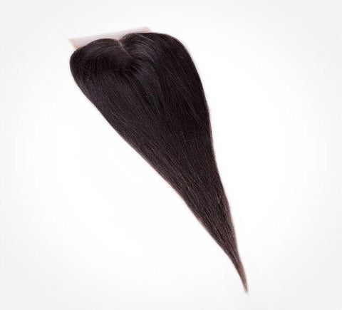 Mayvenn Hair Extensions Brazilian Yaki Straight Lace Closure