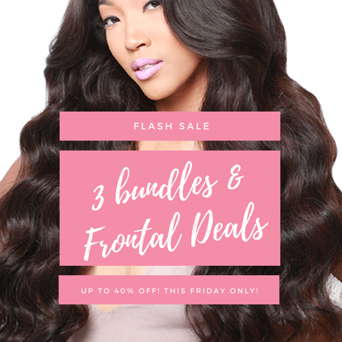 Mayvenn Hair Extensions Lace Frontal Bundle Deal