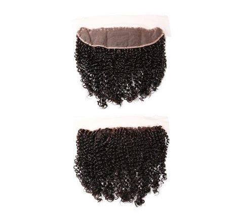 Mayvenn Hair Extensions Peruvian Curly Lace Frontal