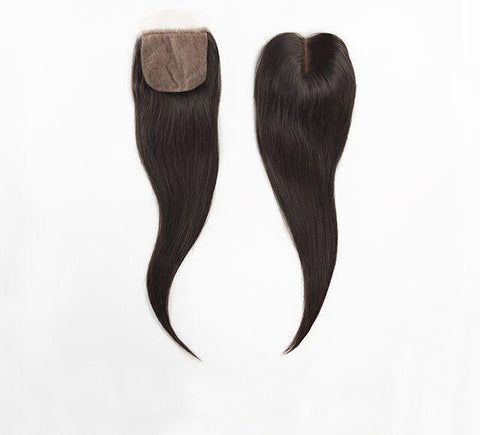 Mayvenn Hair Extensions Peruvian Straight Silk Closure