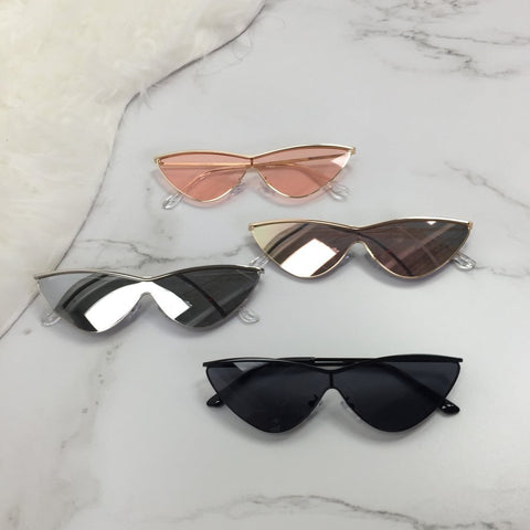 Virgin Pearls Collection Accessories Joan Cat Eye Sunglasses Diva Boutique MayvennHair Virgin Pearls Beauty fashion Hair