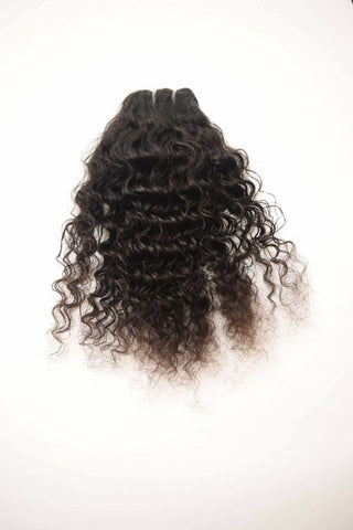 Virgin Pearls Collection Hair Raw Indian -  Curly
