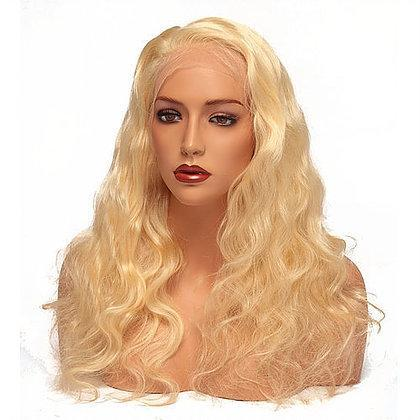 Virgin Pearls Collection Wig 613 Platinum Blonde Full Lace Wig - Body Wave