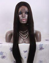 Virgin Pearls Collection Wig Indian Straight Full Lace Wig