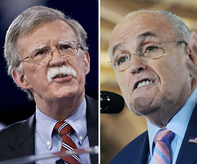 Bolton and Giuliani Took Money to Push for War with Iran