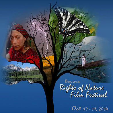 Boulder Rights of Nature Film Festival poster