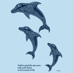 Leaping Dolphins shirt design