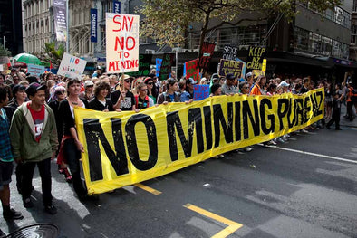 Native Peoples Defend  their Land Against Mining