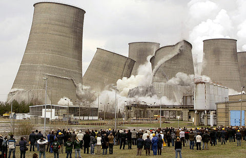 Coal Power Plant Collapse
