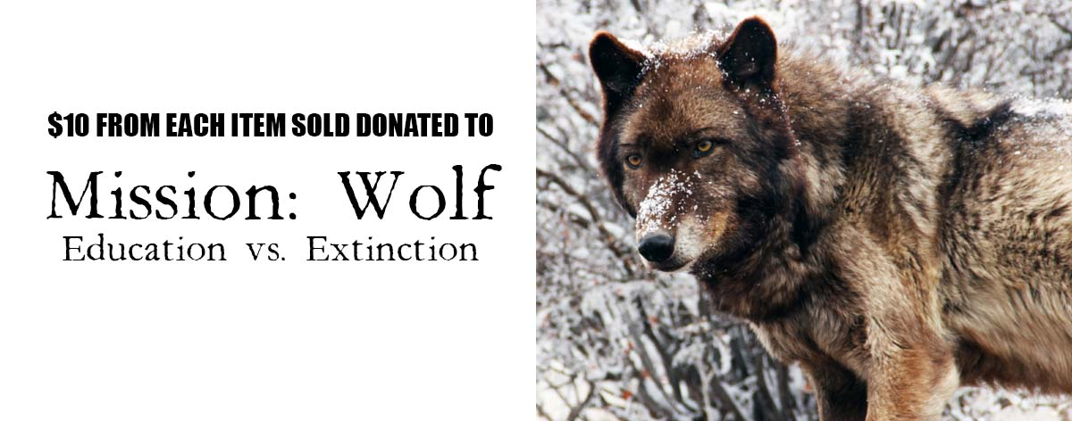 mission wolf t-shirt fundraiser