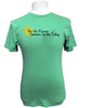 Be The Reason Someone Smiles Today Organic Green T Shirt