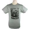 Bear Wonder Black Bear Light Green T-Shirt with Thoreau Quote