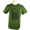 Bear Wonder Black Bear Green Organic T Shirt with Thoreau Quote