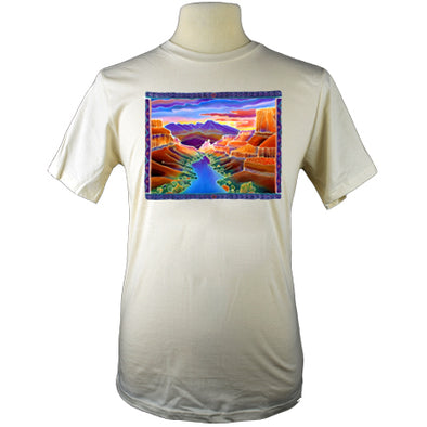 Canyon Sunrise Nature Grand Canyon T Shirt Colorful Design