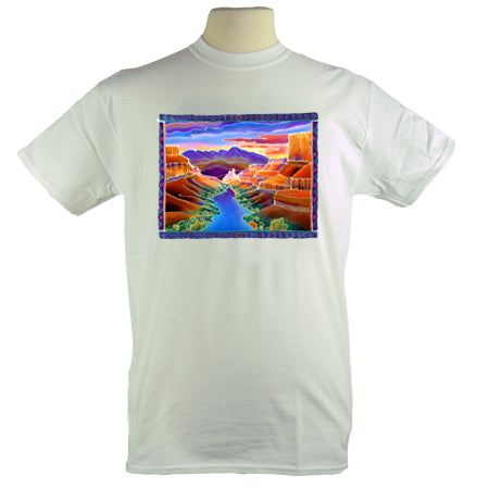 Jim Morris Environmental Colorful Canyon Sunrise T Shirt