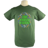 Find Yourself design on Men's Heavyweight t-shirt in Dark Green