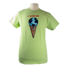 I Scream design on Men's Heavyweight t-shirt in Avocado