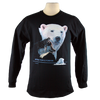 Extinction is Forever design on Men's Longsleeve shirt in Black