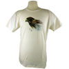 Swainson's Hawk design on Men's Slim Fit Organic t-shirt in Natural