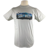 Stay Wild design on Men's Slim Fit Organic t-shirt in Silver