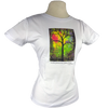 Sunshine design on Women's Soft Relaxed Fit t-shirt in White