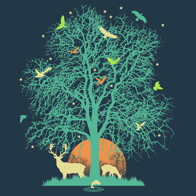 Tree of Life T-Shirt Design by Malcom Watson