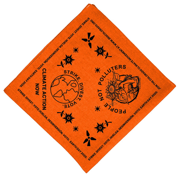 350 Colorado Earth Day Bandana and Banner Fundraiser