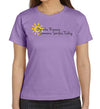 Be the Reason Someone Smiles Today Women's T-Shirt on Lavender