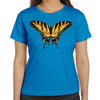Tiger Swallowtail Butterfly Blue Women's Nature T Shirt