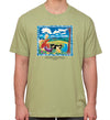 Cloud Watching T-Shirt Organic Sage Green