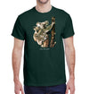 Koalas Heavyweight T-Shirt on Forest Green
