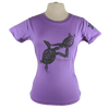 Turtles Embrace design on Women's Soft Relaxed Fit t-shirt in Lavender