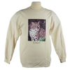 Ocelot design on Men's Longsleeve shirt in Natural