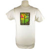 Sunshine design on Men's Slim Fit Organic t-shirt in Natural