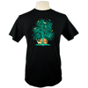 Tree of Life Organic T-Shirt in Black